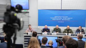 Minsk mostra un altre cop el periodista Protassévitx, mentre l'oposició acusa el règim bielorús d'utilitzar-lo com a «trofeu»