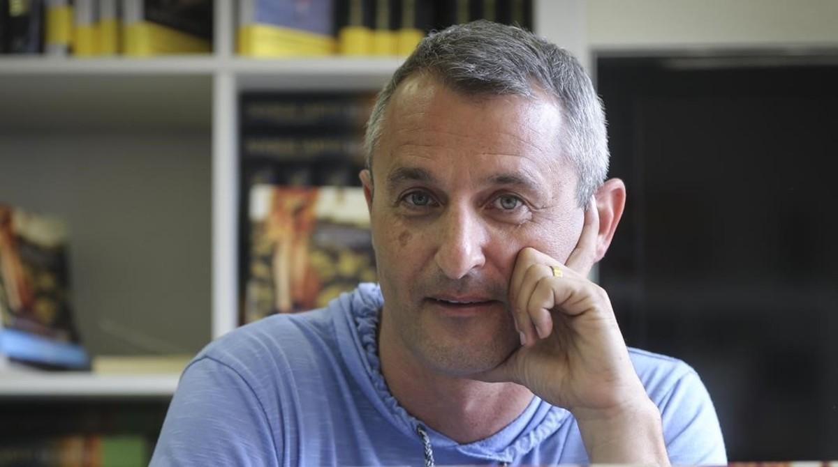 El escritor israelí Eshkol Nevo.
