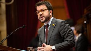 Pere Aragonès, candidato a la presidente de la Generalitat