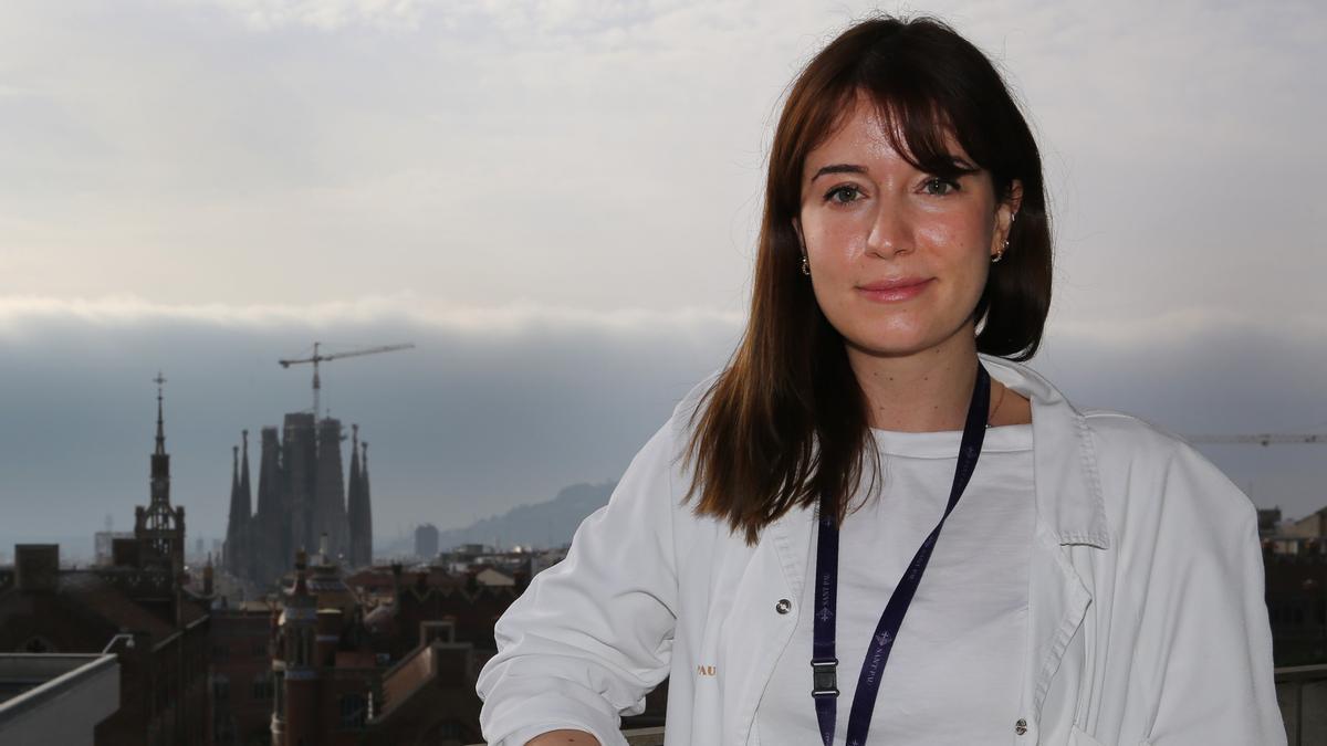 La doctora Carla Domínguez.