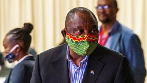 El presidente sudafricano, Cyril Ramaphosa.