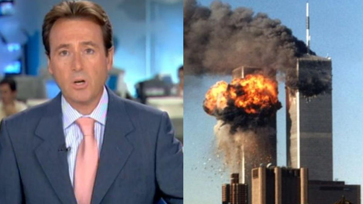 Matías Prats narrando los atentados del 11-S contra las Torres Gemelas.