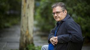 El escritor catalán Sergi Pàmies.
