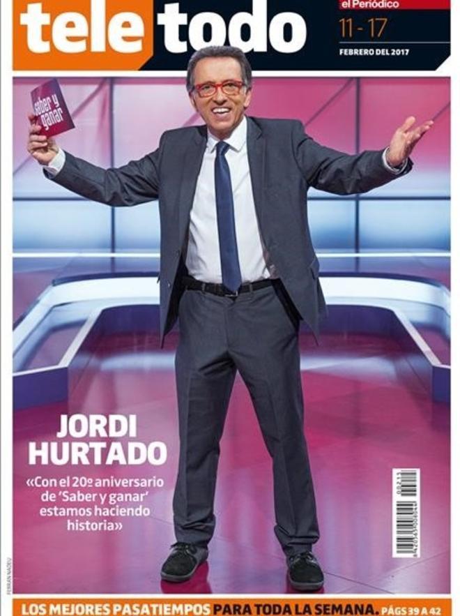 Portada de 'Teletodo', este sábado, con Jordi Hurtado.
