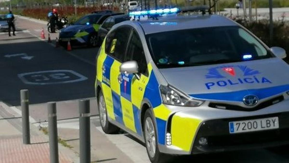 Imagen del Twitter de la Policía Local de Rivas Vaciamadrid.
