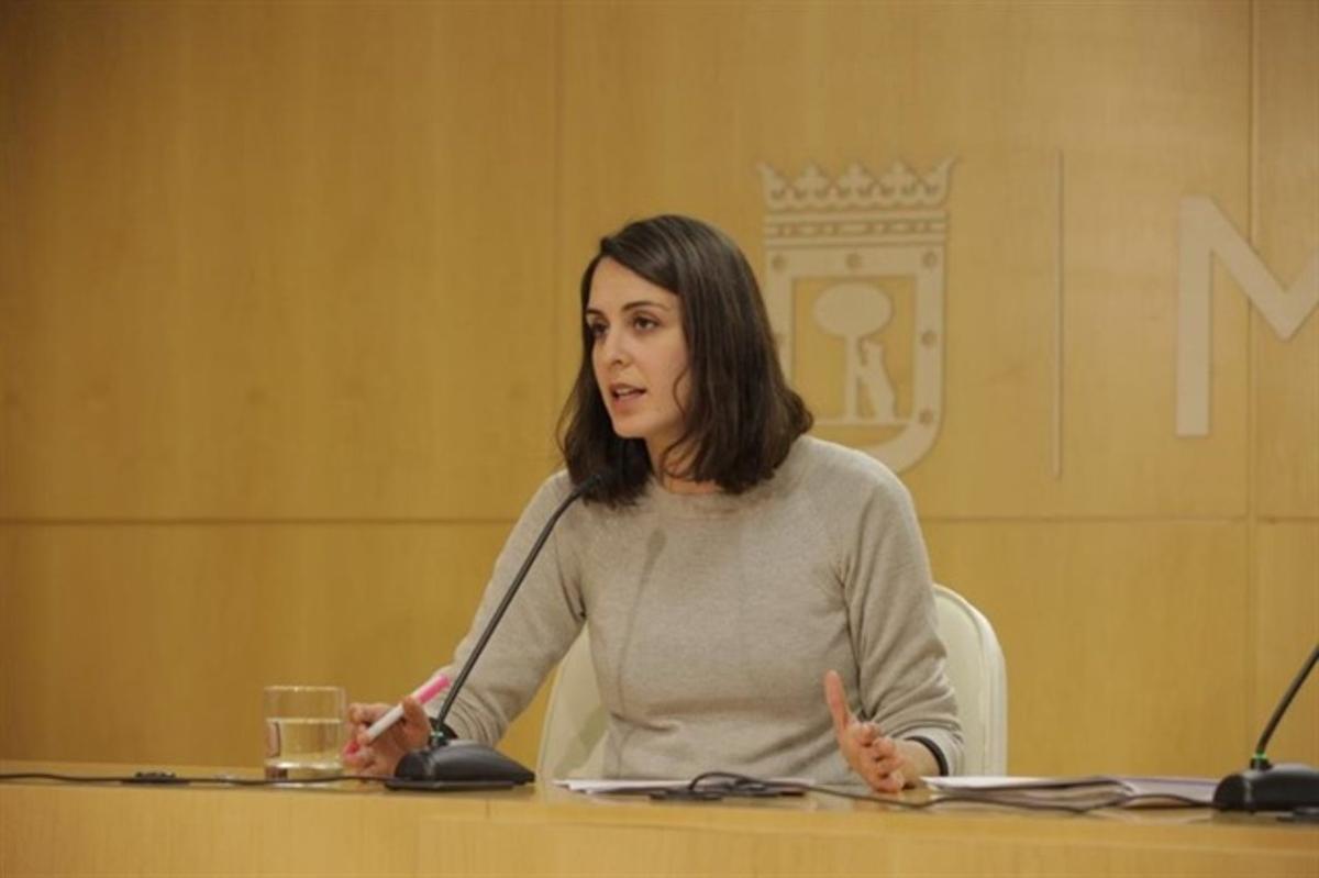 La portavoz del Gobierno municipal de Madrid, Rita Maestre.