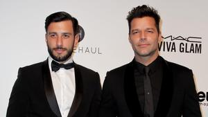Ricky Martin y su marido Jwan Yosef.