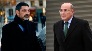 Josep Lluis Trapero y Diego Perez de los Cobos.