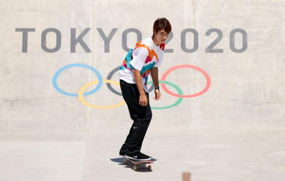 Horigome, el skater japonés.