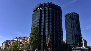 Oficinas centralesdeCaixaBank en Barcelona.