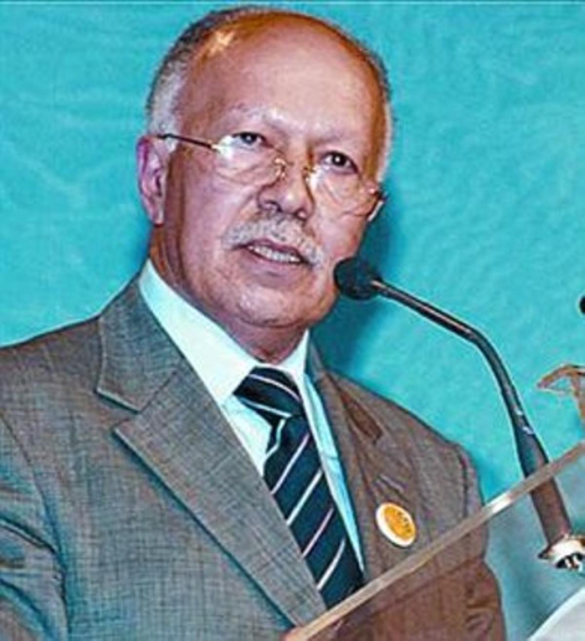 El ministro de Comunicación y portavoz del Gobierno, Jalid Naciri.