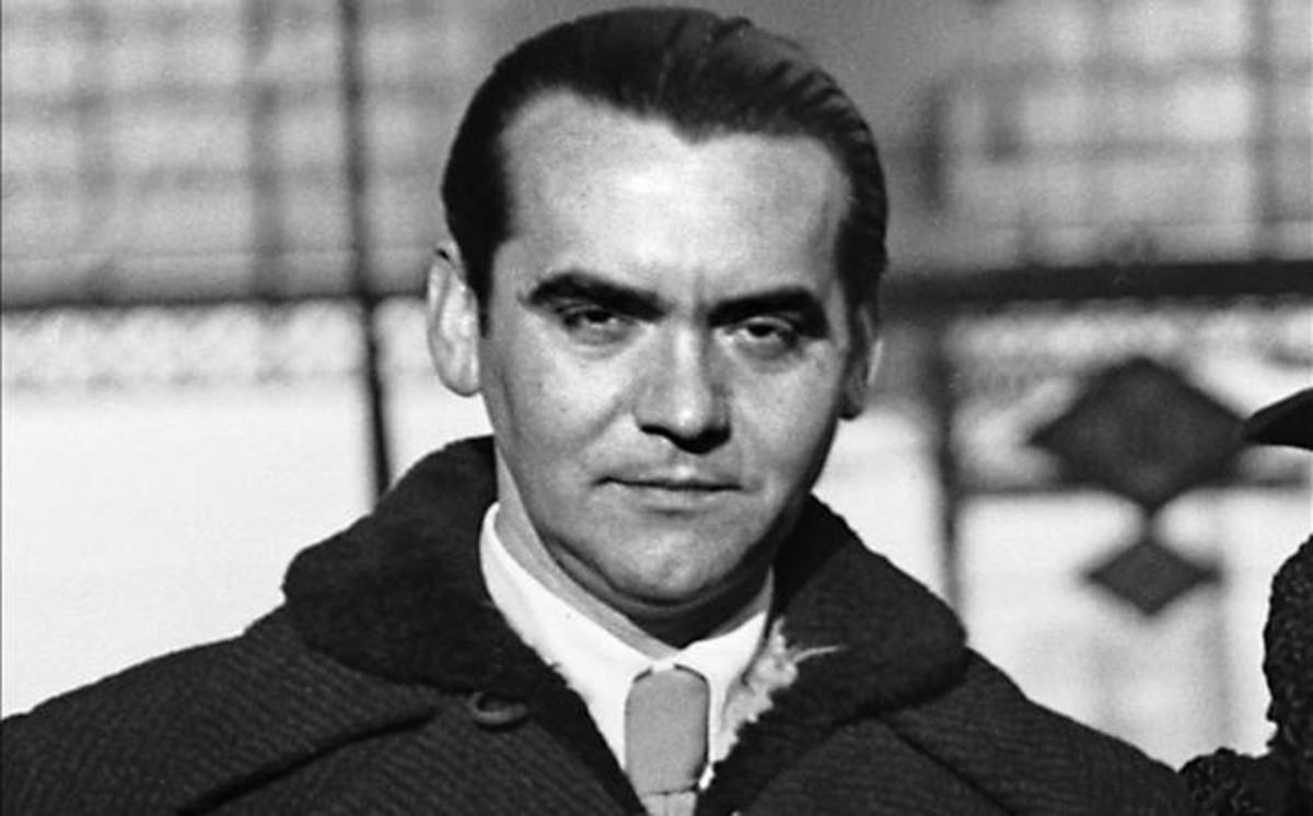Federico García Lorca en Madrid.