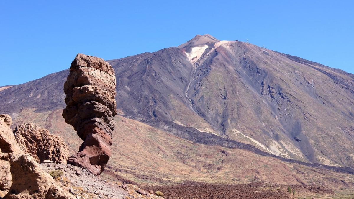 Parque nacional del Teide, en Tenerife.