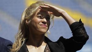 Shakira, en el Camp Nou.