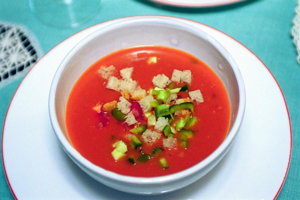 Gazpacho, uno de los platos españoles por excelencia