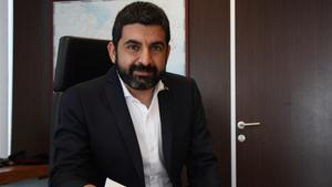El 'conseller' de Trabajo, Asuntos Sociales y Familias, Chakir el Homrani.