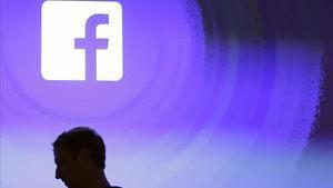 Mark Zuckerberg, en el cuartel general de Facebook.