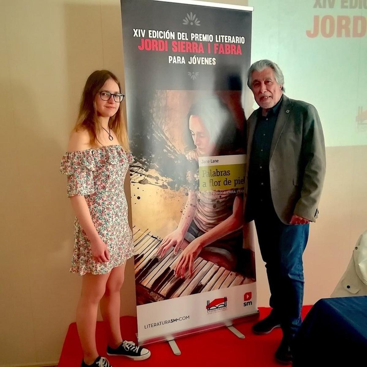 Julia Ramírez, premio Jordi Sierra i Fabra para jóvenes escritores del 2019.