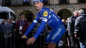 Julian Alaphilippe, en la Vuelta al País Vasco.
