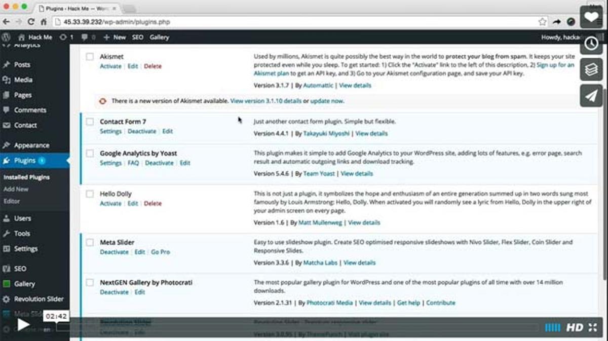 Mossack Fonseca Slider Revolution Vulnerability Demo from Wordfence.