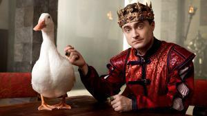 Daniel Radcliffe, en la segunda temporada de 'Miracle workers'.