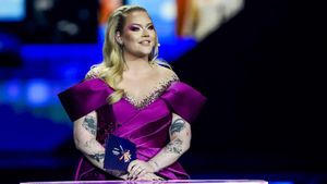 Nikkie de Jager, en la reciente edición de Eurovisión.