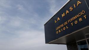 Una imagen de La Masia en la ciudad deportiva del Barça.