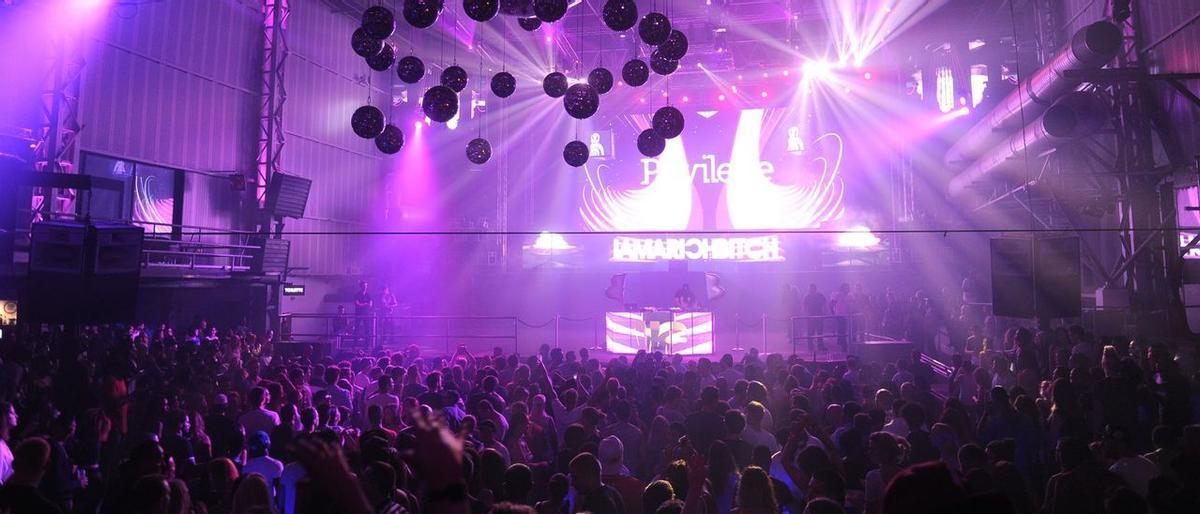 Discoteca de Ibiza.