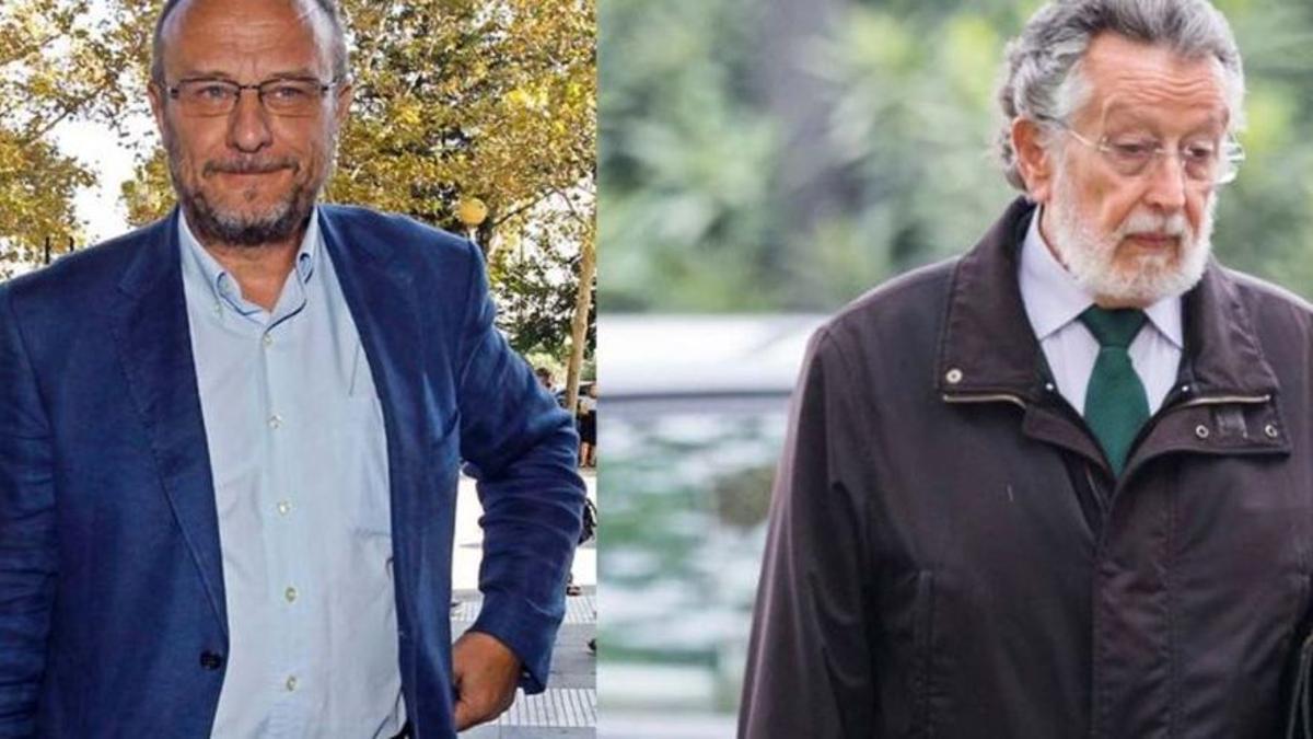 Rafael Rubio, ex subdelegado del Gobierno en la Comunitat Valenciana, y Alfonso Grau, ex vicealcalde de Valencia.