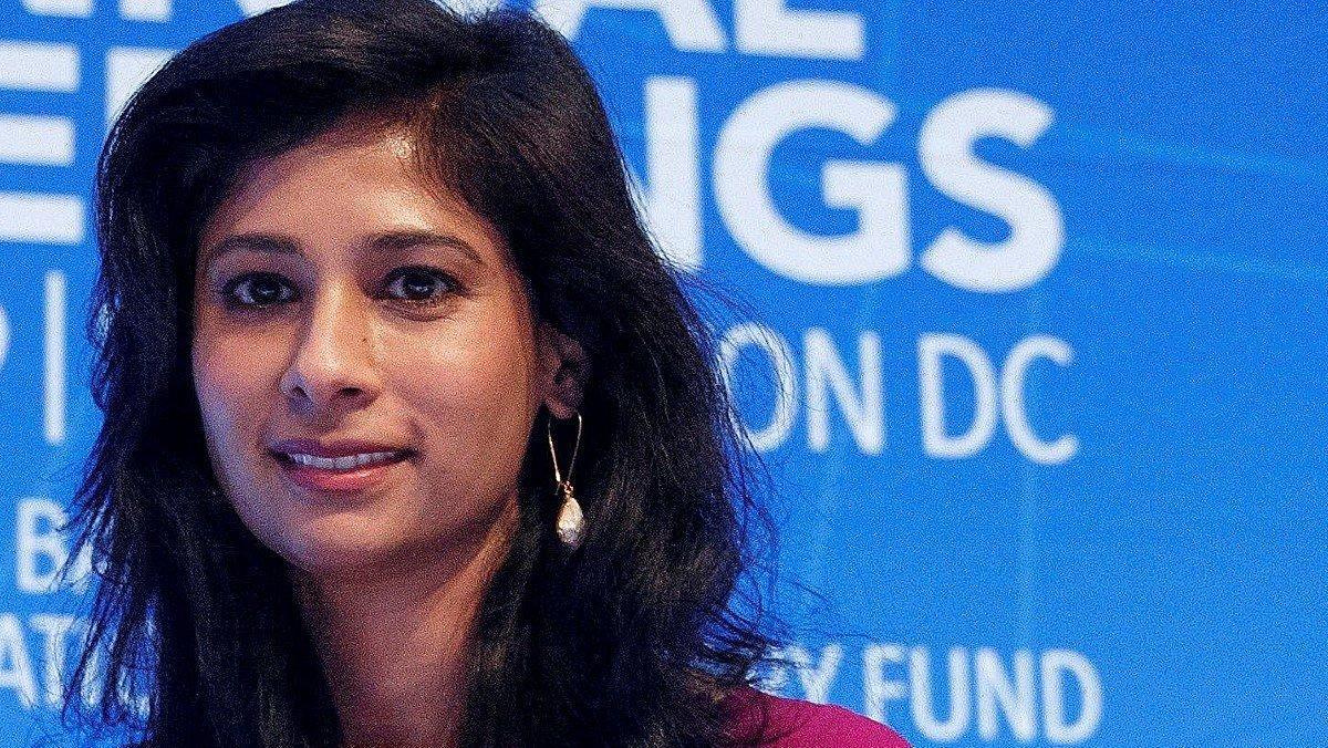 Gita Gopinath.