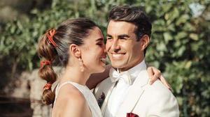 Candela Serrat se ha casado con su novio, elactor Daniel Muriel.