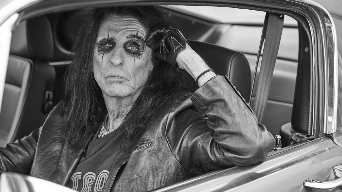 Una imagen promocional de Alice Cooper
