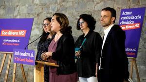 Ada Colau tancarà la llista d'En Comú Podem al Congrés per Barcelona