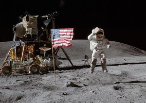 Laúltima vez que EEUU envió una misión tripulada fuera de la órbita terrestre fue en 1972.