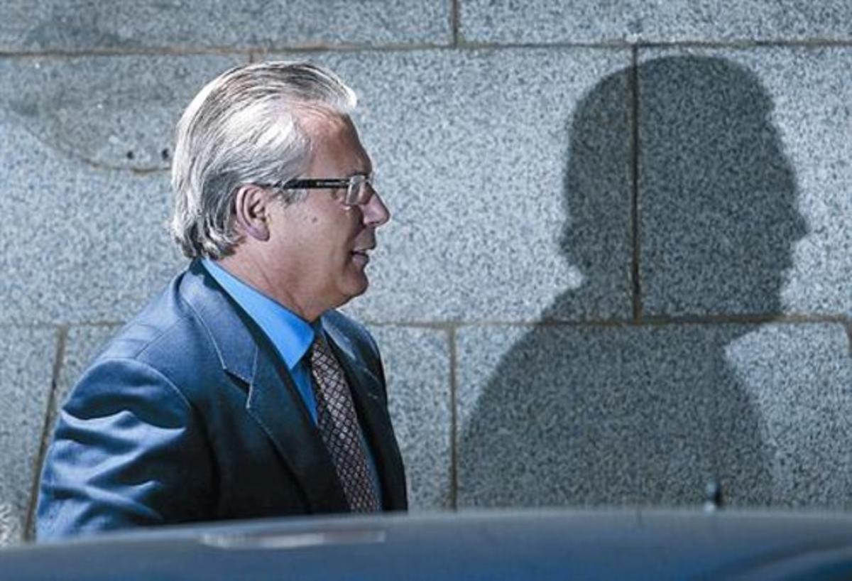El juez Baltasar Garzón, el pasado mes de mayo llegando a un hotel de Madrid.