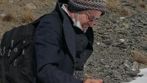 Kameel Ahmady, durante su huida de Irán, en una imagen colgada en su cuenta de Facebook.