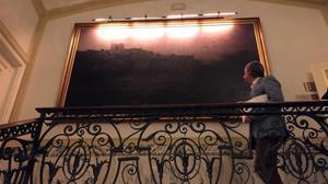 'Horizons', de Modest Urgell, la obra que sedaba a Joan Miró a la hora de la 'migdiada' en el Majestic.