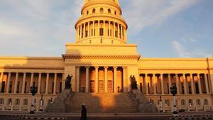 El Capitolio de La Habana.