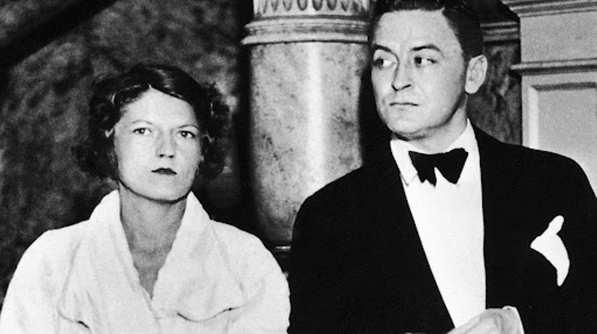 Zelda y F. Scott Fitzgerald.