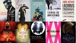 Superventas y novela histórica: 15 libros recomendados para Sant Jordi 2021
