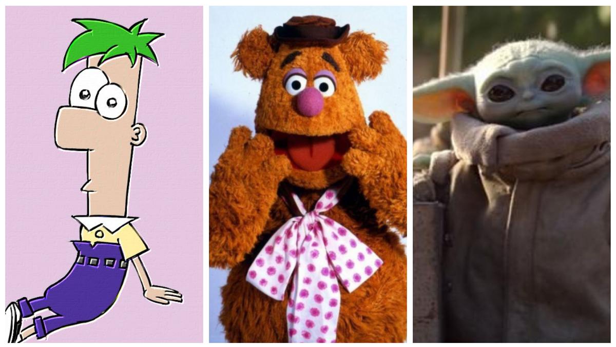 Imágenes de 'Phineas y Ferb', 'Más Muppets que nunca' y 'The mandalorian'