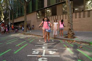 Més espai lliure de trànsit per a 78 escoles