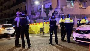 BARCELONA  crimen asesinato en la ronda guinardo FOTOGRAFIA DE GUILLEM SANCHEZ