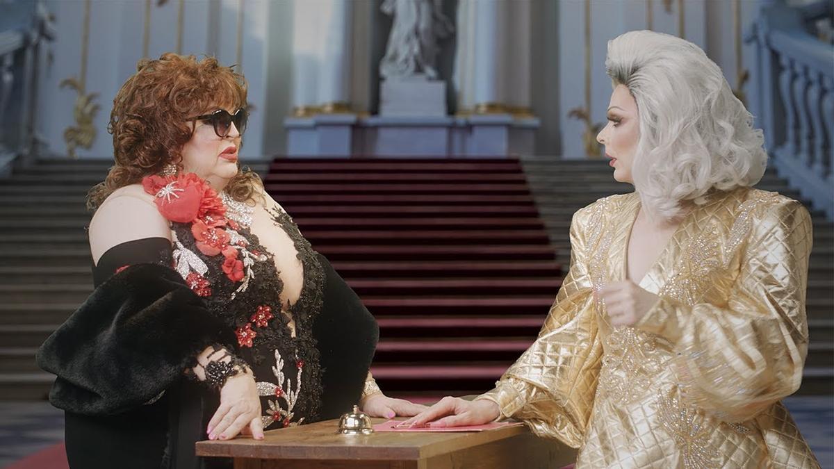 El 'Gran Hotel de las Reinas' aterriza en Barcelona con Supremme de Luxe, Paca la Piraña y las concursantes de 'Drag Race'