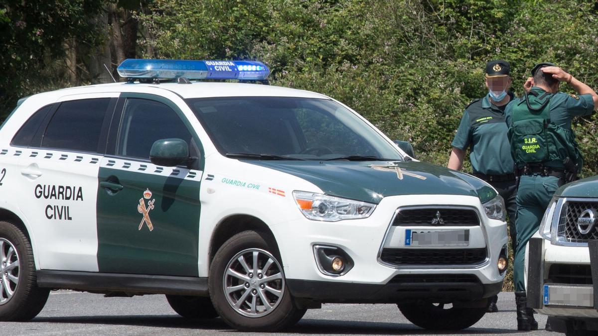 Una patrulla de la Guardia Civil.
