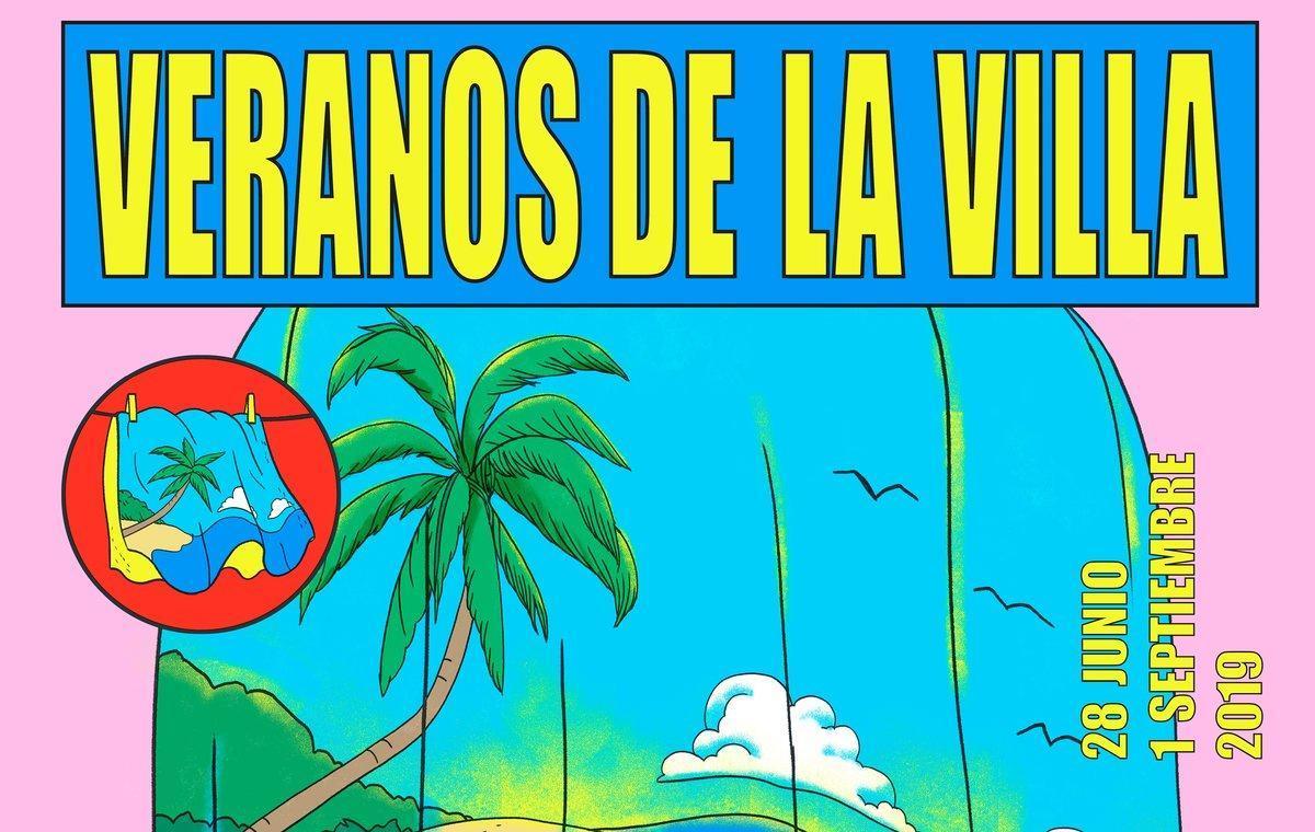 Fragmento de uno de los carteles de Los Veranos de la Villa 2019.