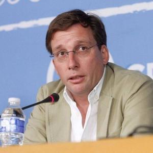 El portavoz del PP en el Ayuntamiento de Madrid, José Luis Martínez-Almeida.