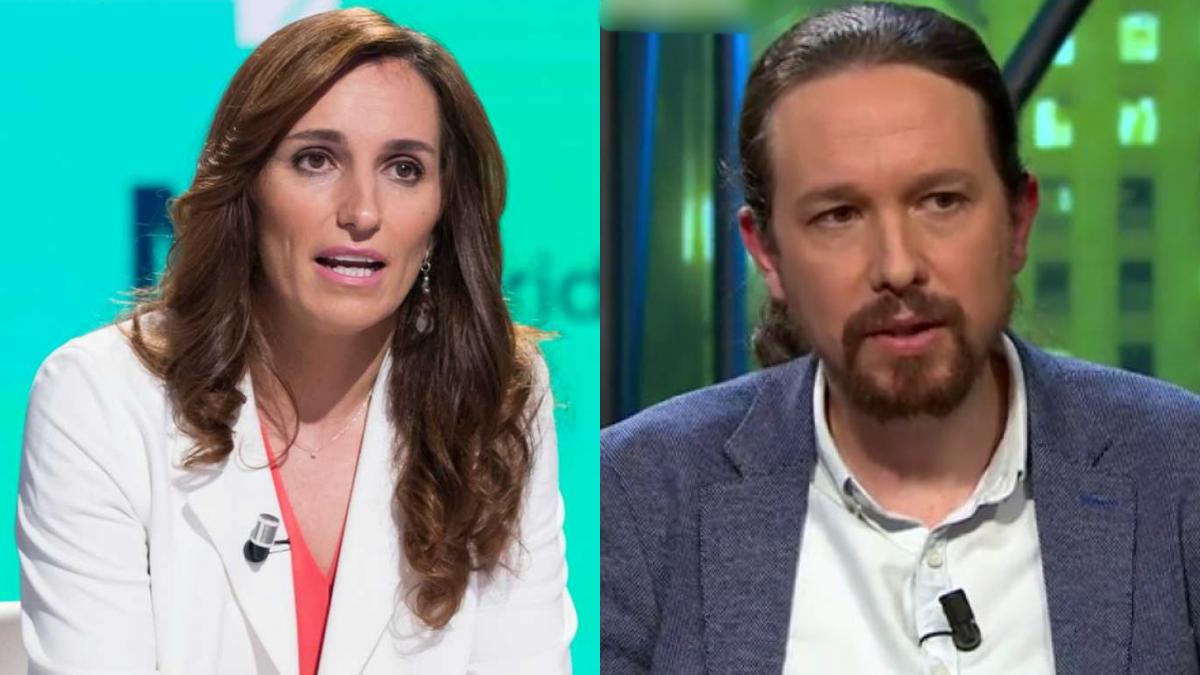 Mónica García (Más Madrid) y Pablo Iglesias (Unidas Podemos), invitados en 'laSexta noche'
