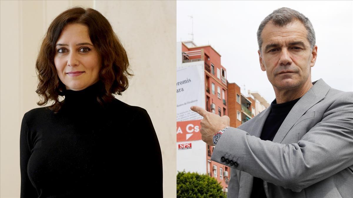 Ayuso ficha a Toni Cantó para la lista del PP de Madrid.