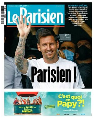 Portada de 'Le Parisien'